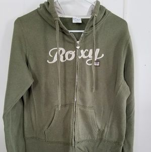 Roxy Long Sleeve Hooded Zip Up